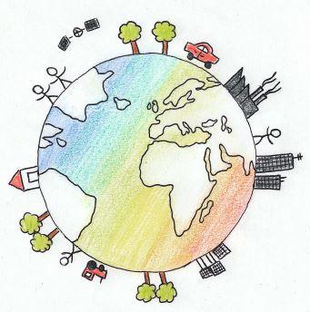 Logo vom Fachbereich Geographie